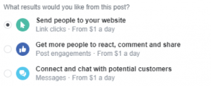 Boosting a Facebook post the right way