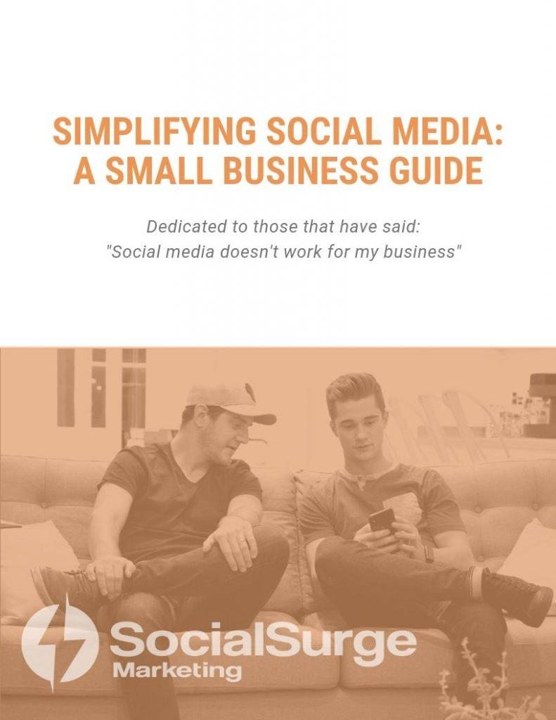 SocialSurge Marketing Ebook A Small Business Guide