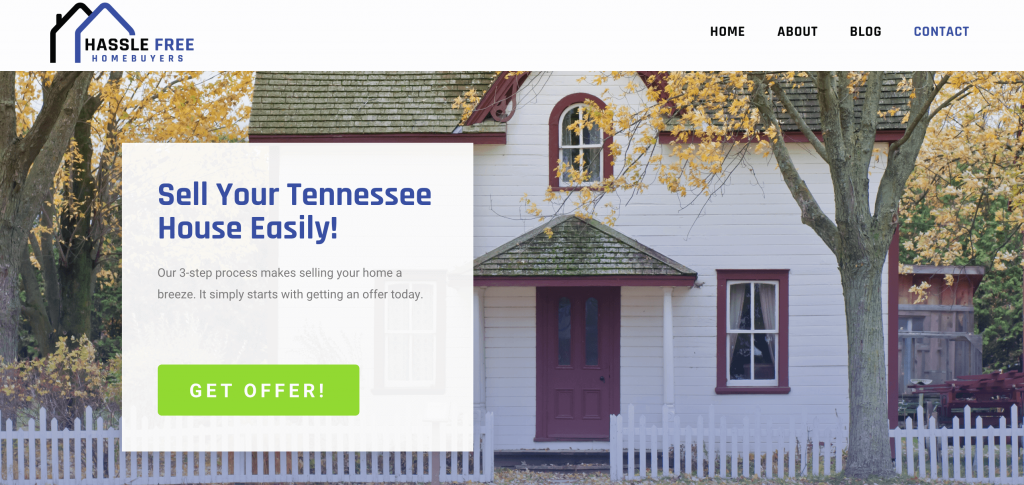 Hassle Free Tennessee Home Page