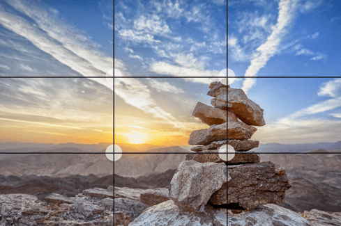 Rule of Thirds on your phone