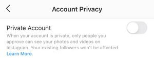 How to make sure your Instagram is public