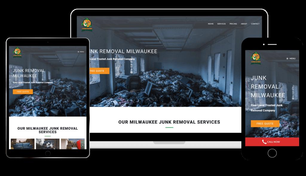 Lakeside Junk Removal Website