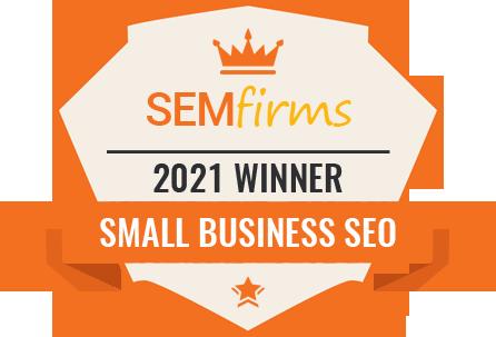 Small Business SEO Award 2021